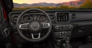 Jeep Gladiator Inside